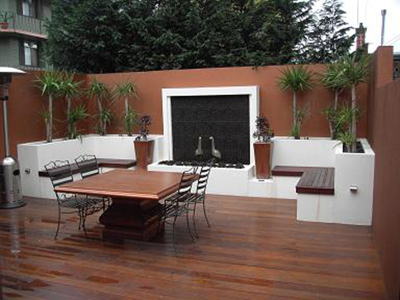 Outdoor Entertainment Area Timber Outdoor Builders